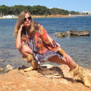 Bluse Ibiza Chiffon