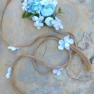 Blütenband Azul