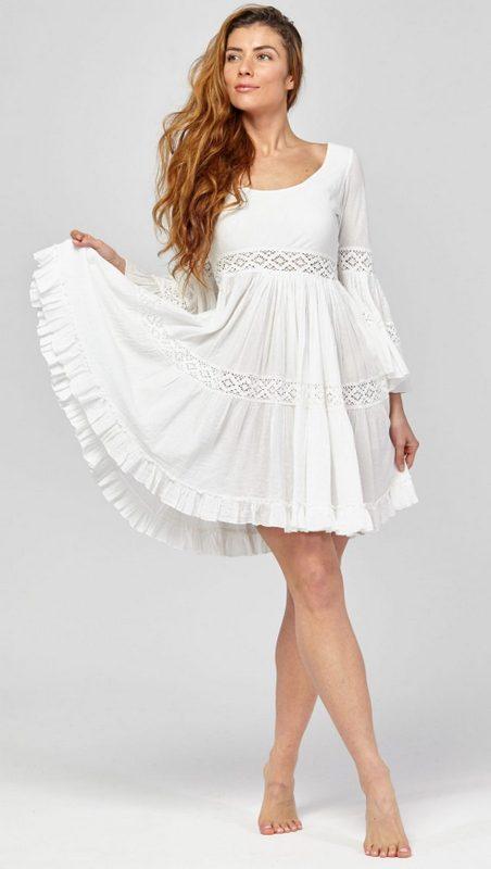 Kleid weib ibiza