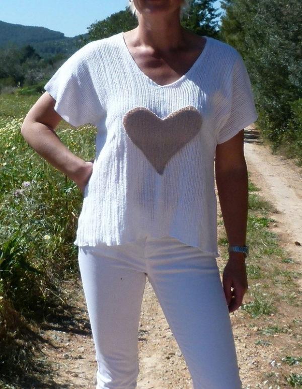 Shirt Herz Ibiza