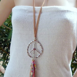 necklace peace