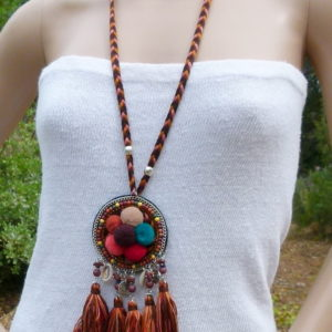 ibiza hippie necklace