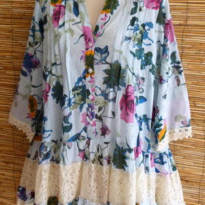 ibiza blouse flower