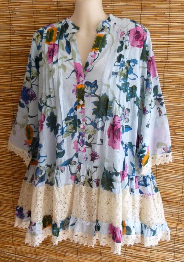 ibiza blouse flower