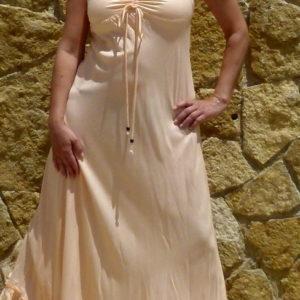 Ibiza Kleid Apricot