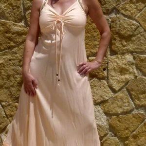 Ibiza Dress Apricot