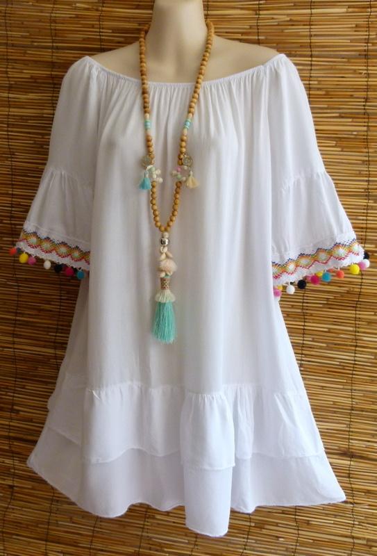 Ibiza Tunika kleid