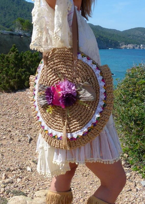 Bast Tasche Flores