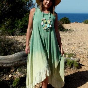 Kleid Batik Verde
