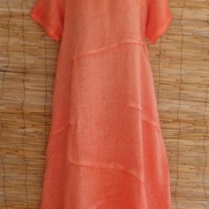 Kleid Leinen Naranja