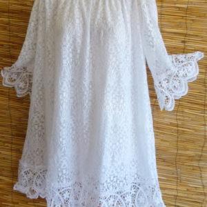 Ibiza Kleid aus Spitze