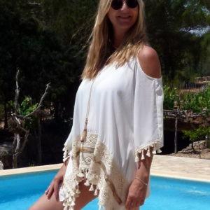 Ibiza Tunika Offshoulder