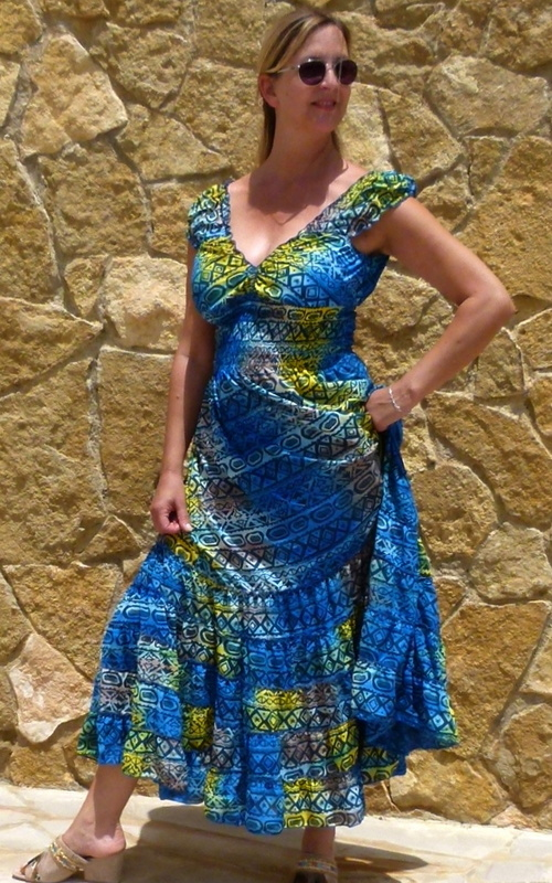 Bohemien Ibiza Kleid