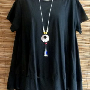 Oversize Tunika Black