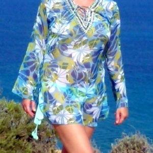 Bluse Ibiza Flowers