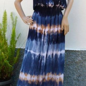 kleid-batik-blau