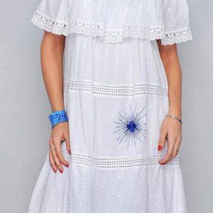Kleid Blanca Sol