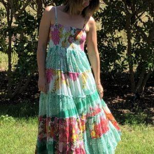 Kleid Volant Flower