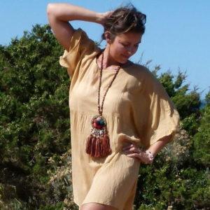 oversize kleid beach