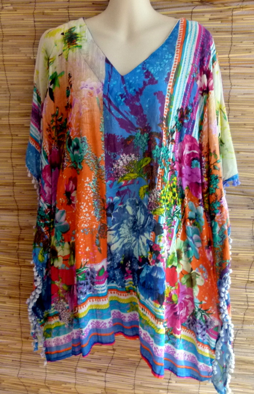Tunika Hippie Flower