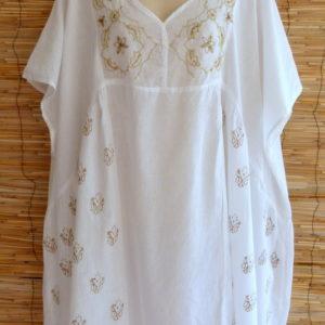 Tunika Oversize White
