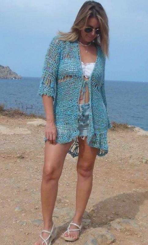 Crochet Jacke Lino