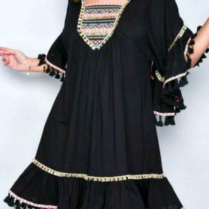 Kleid Negro Ethno
