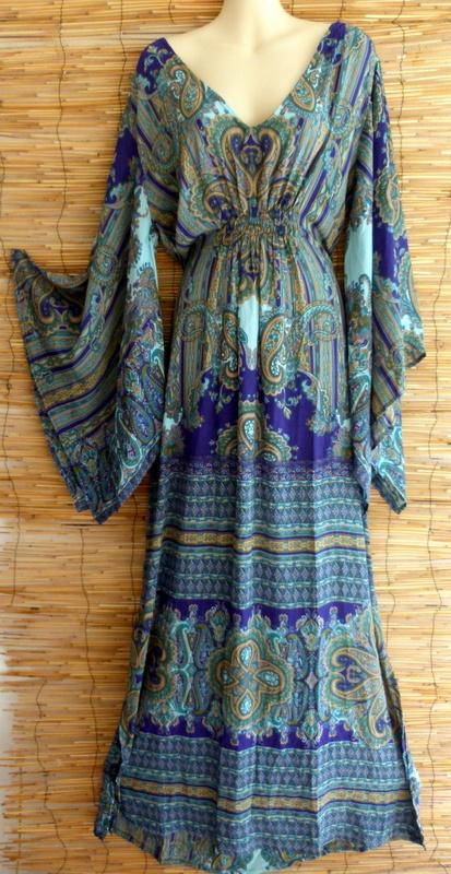 Kleid Silk Ethno